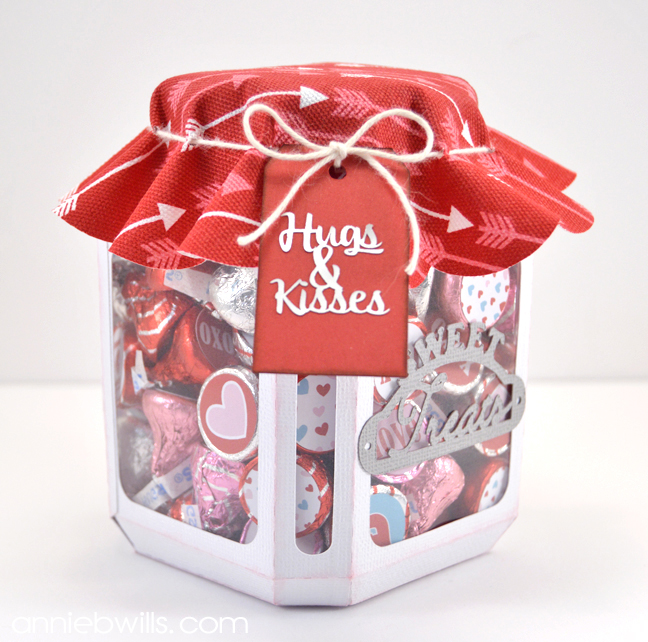 Hugs Amp Kisses Candy Jar Lab Hands